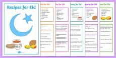 Eid Recipe Book