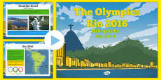 KS2 Olympic Games Rio 2016 PowerPoint Polish Translation