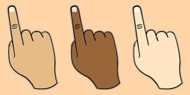 Finger Spacing Hand