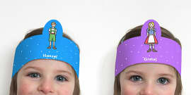 Hansel and Gretel Role Play Headbands