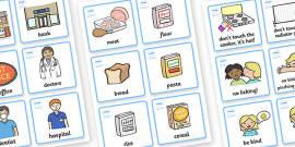 SEN Communication Cards Pack (Girl)
