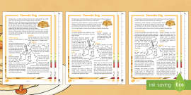 * NEW * Pancake Day Differentiated Reading Comprehension Activity