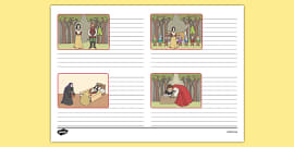 Snow White Storyboard Template
