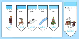 Editable Bookmarks to Support Teaching on The Snowman