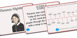 Florence Nightingale Timeline PowerPoint