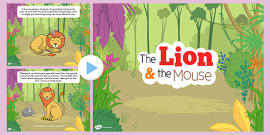 The Lion And The Mouse PowerPoint