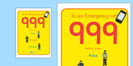 People Who Help Us Call 999 Poster