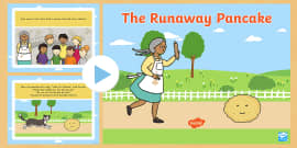 * NEW * The Runaway Pancake Story PowerPoint