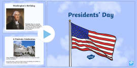 Presidents' Day Information PowerPoint