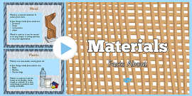 Materials Information PowerPoint