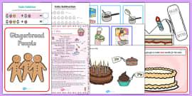 Cake Activity Resource Pack