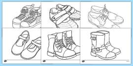 Shoe Design Template