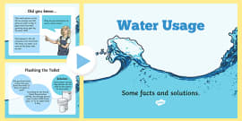 Water Usage and Solutions PowerPoint