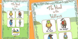 The Wind in the Willows Vocabulary Poster