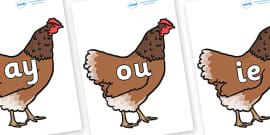 Phase 5 Phonemes on Hens