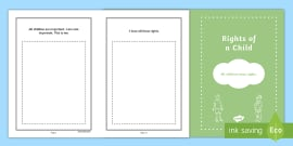 Rights of a Child Booklet