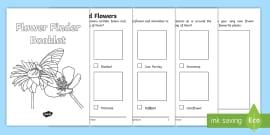 * NEW * Flower Finder Booklet