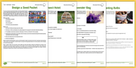 Gardening Club Autumn 1 Activity Pack