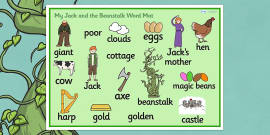 Jack and the Beanstalk Word Mat