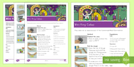 Mini King Cakes Classroom Recipe