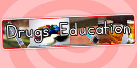 Australia - Drugs Education IPC Photo Display Banner