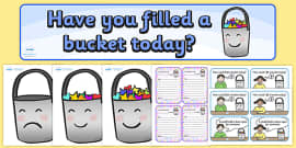Have You Filled a Bucket Today Story Sack Resource Pack