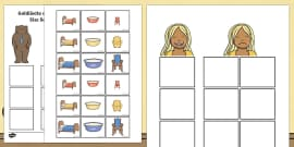 Goldilocks and the Three Bears Size Sorting Activity