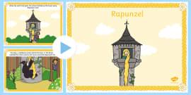 Rapunzel Story PowerPoint