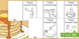 * NEW * Happy Pancake Day Greetings Cards