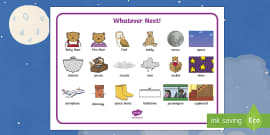 Word Mat to Support Teaching on Whatever Next!