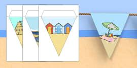 Seaside Display Bunting (No Text)