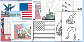 American Independence Day Activity Pack