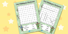 Dick Whittington Wordsearch