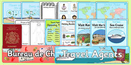 Travel Agents Role Play Pack