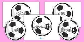 Conjunctions on Footballs