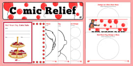 * NEW * Comic Relief (Red Nose Day) Resource Pack