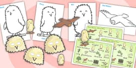 Owl Babies Story Sack Resource Pack