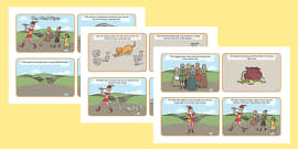 The Pied Piper Story Sequencing (4 per A4)