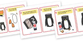 Make a Cardboard Tube Penguin Activity