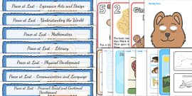 Peace at Last Lesson Plan and Enhancement Ideas EYFS