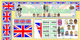 British Values Display Pack