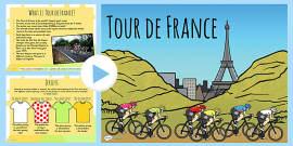 Tour de France Informative PowerPoint