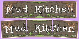 Mud Kitchen Display Banner
