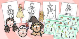 Wizard of Oz Story Sack Resource Pack
