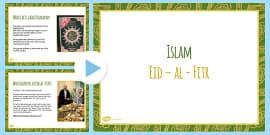 Eid al Fitr PowerPoint