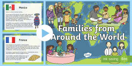 My Family KS1 Families Around The World PowerPoint Presentation