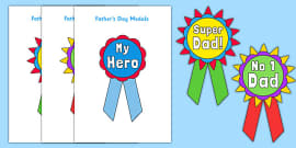 Father's Day Printable Badges