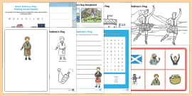 Top Ten KS1 Saint Andrew's Day  Activity Pack