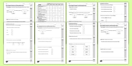Year 6 English Grammar and Punctuation Practice Test Pack