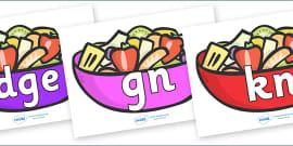 Silent Letters on Fruit Salad
